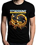 Scorpions Band Rock Metal Music Logo Men's T-Shirt
