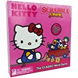 Hello Kitty Scrabble Jr. The Classic Board Game 2 Sided