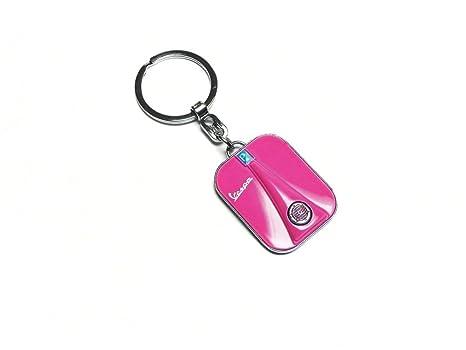 Llavero Vespa Pierna Cartel, rosa