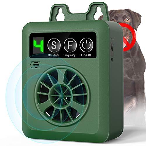 uniwood Anti Barking Device, Newest 2019 Bark Control Device with 4 Adjustable Ultrasonic Volume Levels, Automatic Ultrasonic Dog Bark Deterrent for Small Medium Large Dog