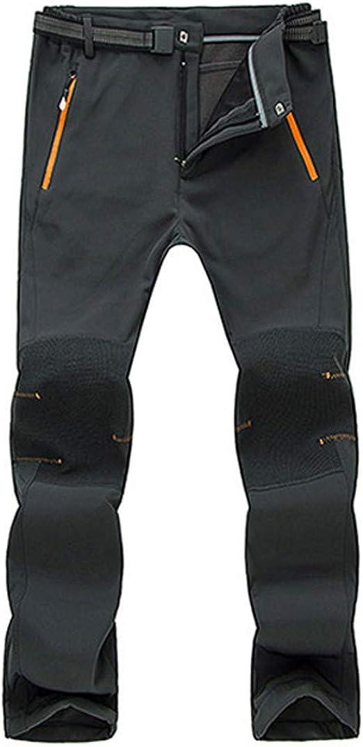 Pantalones Trekking Hombres Extrem Pareja Impermeable A Prueba de ...