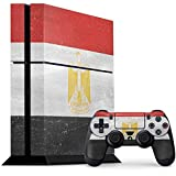 Countries of the World PS4 Console and Controller Bundle Skin - Egyptian Flag Distressed | Skinit Lifestyle Skin
