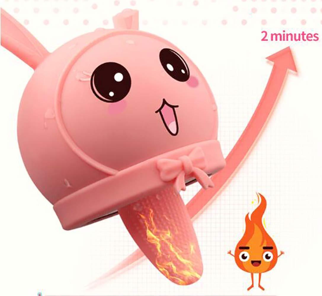 SEYXX Estimulador Vibrador De Clítoris Masaje De Coño Vibrador Estimulador De Lengua para Ella con Vibración De Frecuencia 12 Y Vibrador Vibrador De Clítoris Recargable con Control Remoto,Pink-S ac75b5