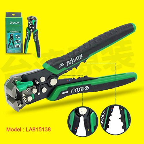 LAOA Automatic wire stripping Multifunction Professional Electrical wire stripper wire stripper Tools LA815138