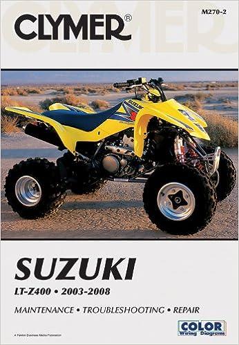 Suzuki LT-Z400 2003-2008 (Clymer Motorcycle Repair): Penton Staff