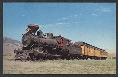 Truckee Virginia NARROW GAUGE Train Carson City Nevada Railroad ()