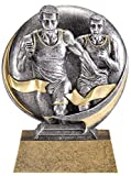 Etch Workz Track Awards 5'' Tall - Engraved & Personalized Free - Perfect Male Track & Field Trophy