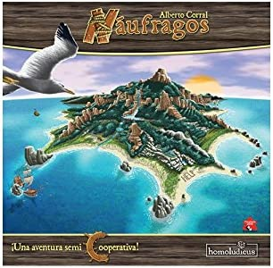 HomoLudicus - Náufragos, Juego de Habilidad (925401): Amazon.es: Juguetes y juegos