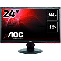 AOC G2460PF 24-Inch Professional Gaming LED Monitor Free Sync,144hz,1ms, Hght Adjust, Spk, VGA DVI HDMI DP USB