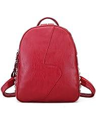 Mini Backpack Shoulder Tote Bag Purse PU Leather School Girls Anti-theft Handbag Crossbody Bag Backpack Fashion...