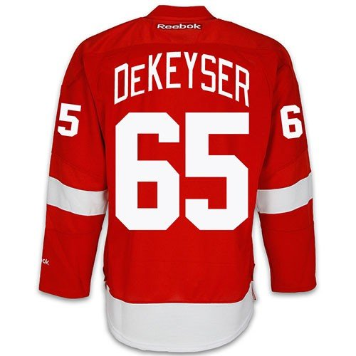 Mens Danny Way (Danny Dekeyser Detroit Red Wings NHL Home Reebok Premier Hockey Jersey)
