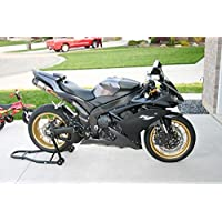 Matte Black w/ Grey Fairing Kit Injection for 2007-2008 Yamaha Yzf R1 2006