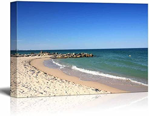 Calm Beach on a Warm Sunny Day Home Deoration Wall Decor