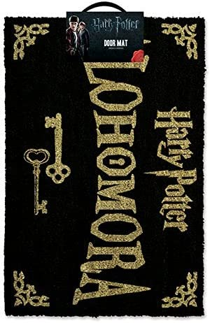 Harry Potter Alohomora Doormat – 100 Coir Rubber Back Door Mat