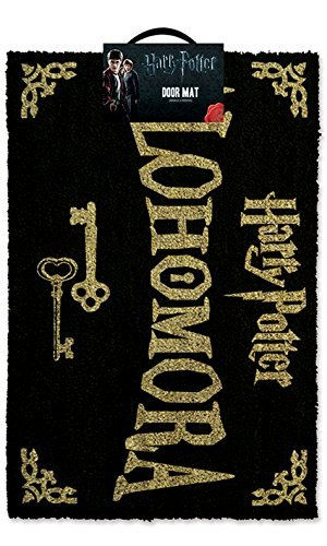 Harry Potter Alohomora Doormat - 100% Coir Rubber Back Door Mat
