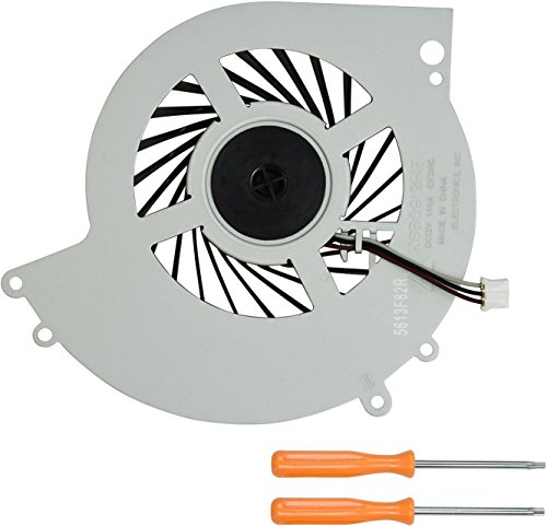 (Replacement Internal Cooling Fan KSB0912HE for PS4 CUH-12XX CUH-1200 CUH-1200AB01 CUH-1200AB02 1215A 1215B Series + Tool Kit)