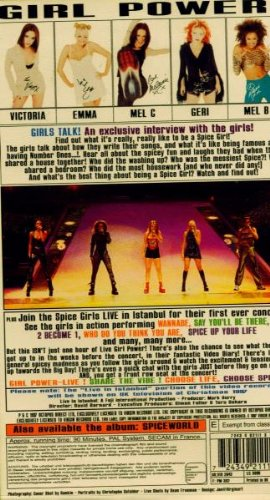 Spice Girls - Girl Power (Live in Istanbul) [VHS] by Virgin Records Us