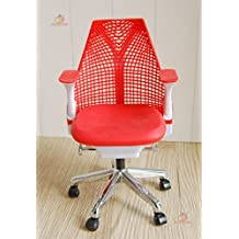 1/6 Barbie blythe Red Swivel Chair Toy Office Chair Dollhouse Miniature Furniture