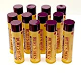 Burts Bees Rejuvenating Lip Balm with Acai Berry (Pack of 12) by Burt's Bees