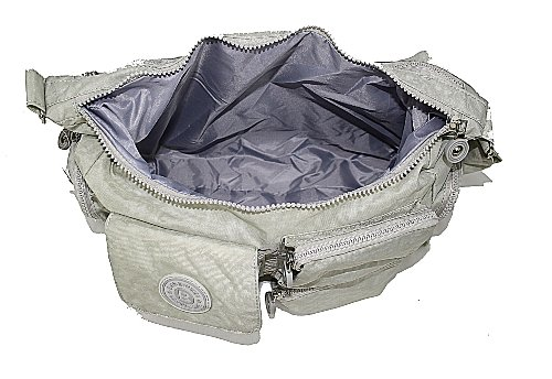 Bag Street - Bolso al hombro de material sintético para mujer Beige Beige - Beige 11