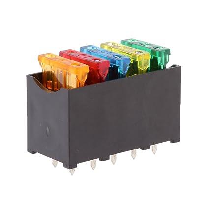 evalue car 5 way blade fuse box holder distribution block fusebox Fuse Box Switch