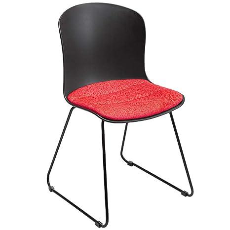 ZY Dining chair Silla Moderna de Comedor de Hierro Forjado ...