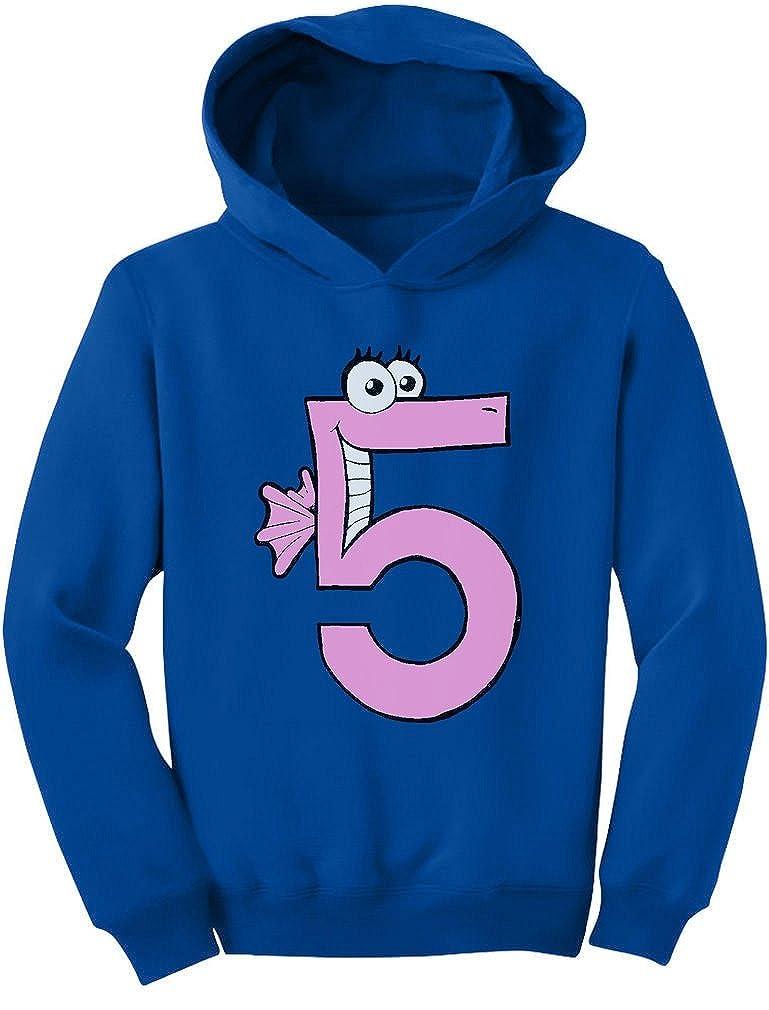 Tstars Im 5 Toddler Hoodie Five Years Old Girl Birthday Gift