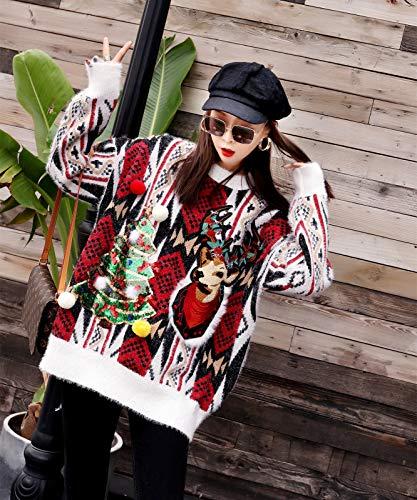 Maglione Felpa Manica White Donna Lunga Shinegown 6adw5qa