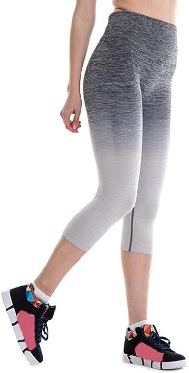 Pantalon Deportivo Para Mujer Leggings Yoga De Cintura Alta Fitness Modernas Casual Fitness Pantalones Deportivos De Estiramiento Leggings A Medida Athletic Gym Entrenamiento Fitness Pantalones De Amazon Es Ropa Y Accesorios