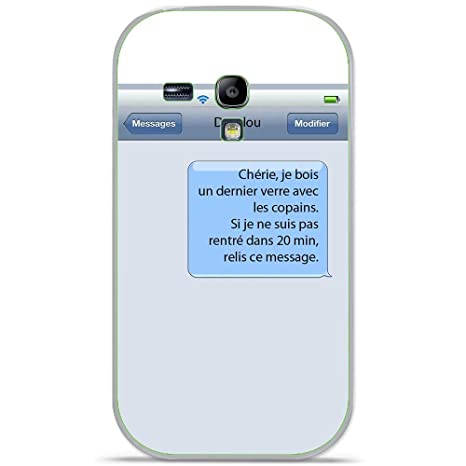 Onozo Carcasa TPU Gel Suave Samsung Galaxy S3 MINI diseño ...