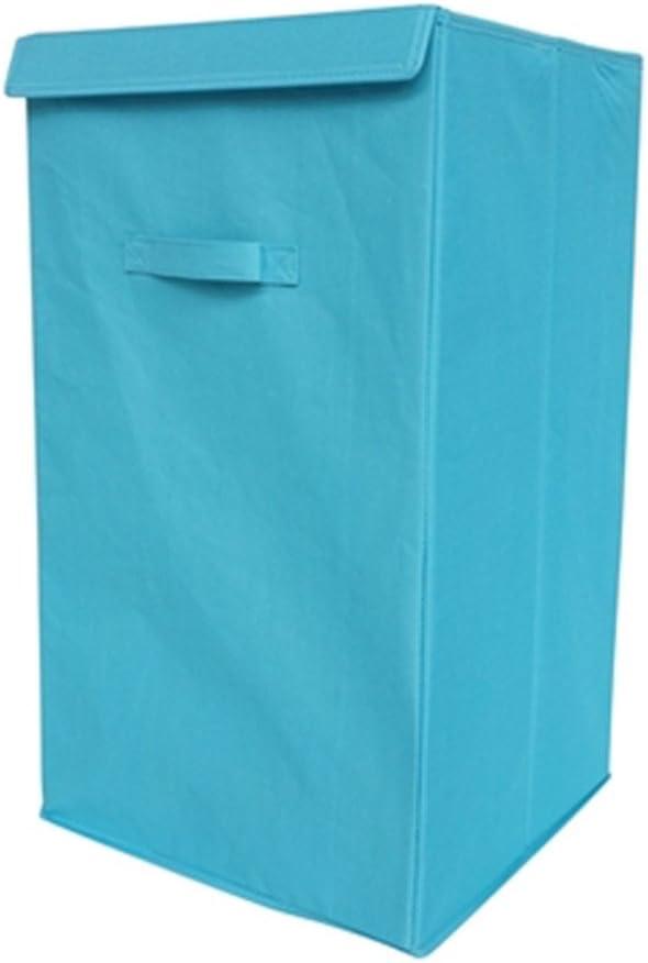 DormCo Folding Laundry Hamper - TUSK Storage - Aqua