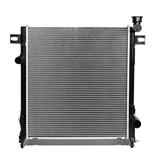DNA Motoring OEM-RA-2479 2479 Aluminum Radiator ,Black For 02-04 Dodge Ram Truck 3.7//4.7//5.7 Metallic