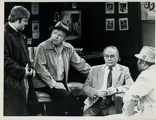 Carroll O'Connor Archie Bunker's Place Original 7x9