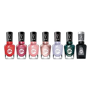 Sally Hansen Miracle Gel Galaxy Set: Out Of This Pearl, Saturn It Up,  Satel-lite Pink, Apollo You