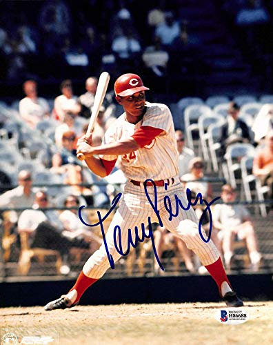Tony Perez Autographed Photo - 8x10 BAS 1 - Beckett Authentication - Autographed MLB Photos