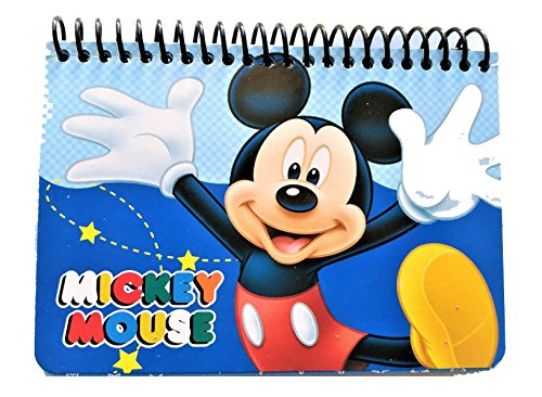 Disney Authentic Licensed Spiral Autograph Book Memo Notepad (Mickey Mouse)