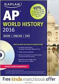 Amazon.com: Kaplan AP World History 2016: Book + DVD