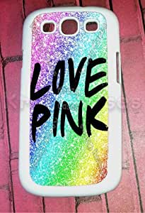 Samsung Galaxy S3 Case, Love Pink Colorful Nebula Samsung Galaxy S3 Cover, Samsung Galaxy S3 Cases, Galaxy S3 Case