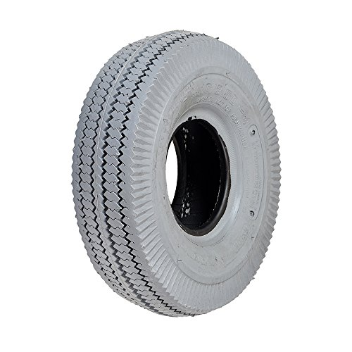 4.10/3.50-4 Solid Foam Filled Tire for Hoveround Teknique FWD Power ()