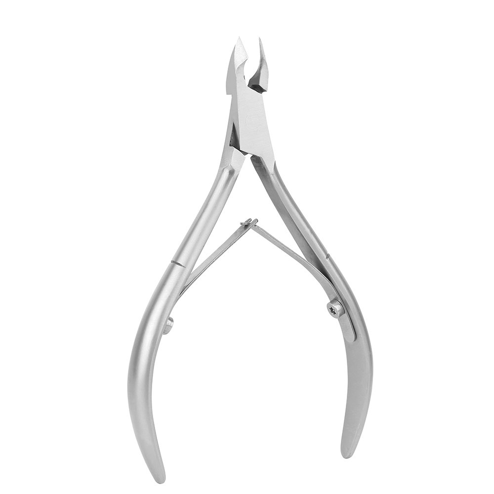 BEZOX Cuticle Nipper Clipper - Stainless Steel Professional Cuticle Cutter Trimmers - Full Jaw(6mm)