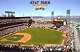 AT&T Park Poster 34 x 22in