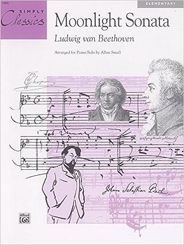 Book Moonlight Sonata (Sheet) (Simply Classics Solos) by Beethoven, Ludwig van, Small, Allan (1994)