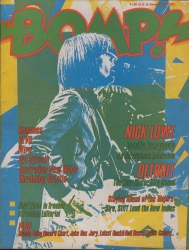 BOMP Magazine #20 NICK LOWE RAMONES DEVO (Volume 1)