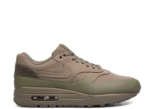 Nike Mens Air Max 1 Patch Steel Green Trainer: