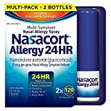 Nasacort Nasal Allergy Spray, 720 Sprays Total, 6 x 120 Spray Dispensers, 0.57 Fluid Ounces Each Nasacort-jhj5