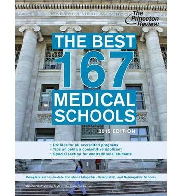 [ The Best 167 Medical Schools (2015) Stoll, Malaika ( Author ) ] { Paperback } 2014 (The Best 167 Medical Schools)