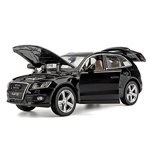 KMT Alloy Diecast Car Models AUDI Q5 SUV Model Cars (Black) by KMT