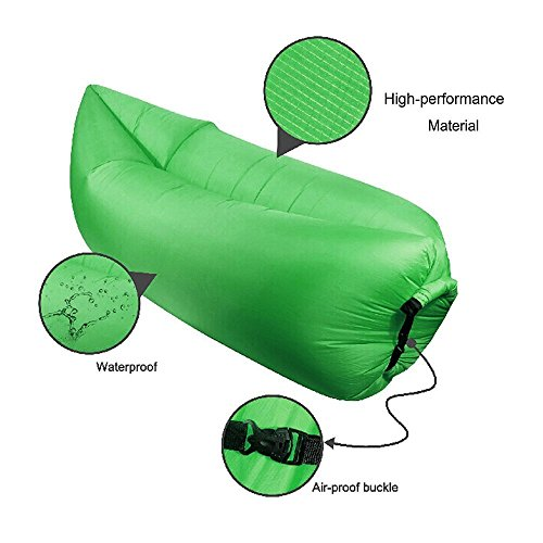 Banana Bed Air Lounger Fast Inflatable Air Bag Bed Sofa  : 51F2mRXDeqL from airbedshop.com size 500 x 500 jpeg 33kB