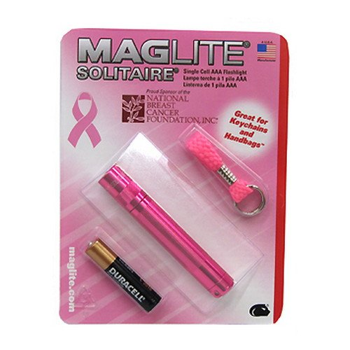 National Breast Cancer Foundation Keychain Flashlight