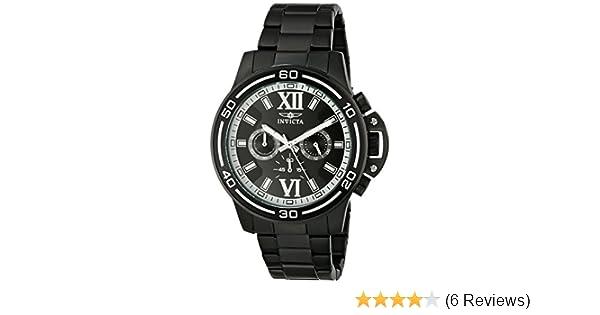 Amazon.com: Invicta Mens 15062 Specialty Analog Display Japanese Quartz Black Watch: Watches